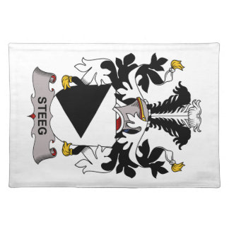 Escudo de la familia de Steeg Manteles Individuales