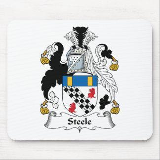 Escudo de la familia de Steele Alfombrillas De Ratones