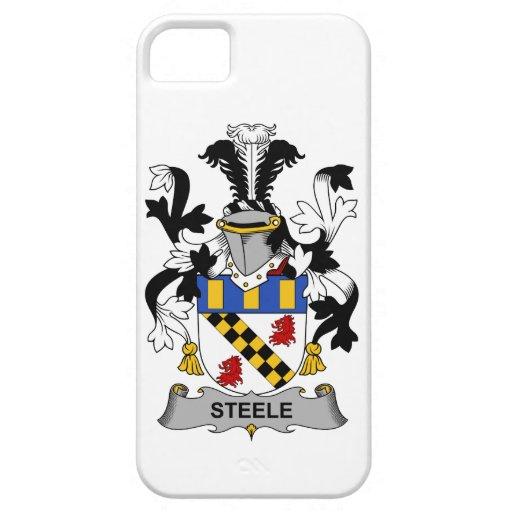 Escudo de la familia de Steele iPhone 5 Case-Mate Funda