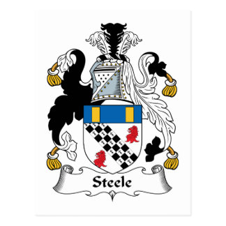 Escudo de la familia de Steele Postales