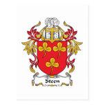 Escudo de la familia de Steen Postal