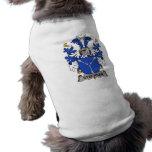 Escudo de la familia de Steensen Ropa De Perro
