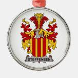 Escudo de la familia de Steffensen Ornamente De Reyes
