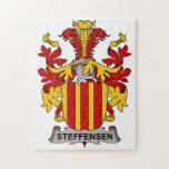Escudo de la familia de Steffensen Puzzle