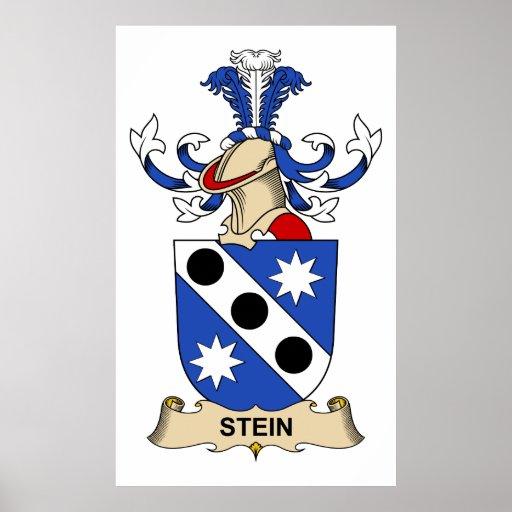 Escudo de la familia de Stein Impresiones