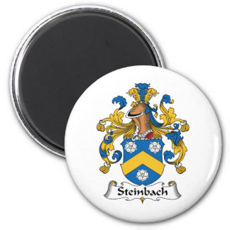 Escudo de la familia de Steinbach Imán Redondo 5 Cm