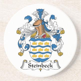 Escudo de la familia de Steinbeck Posavaso Para Bebida