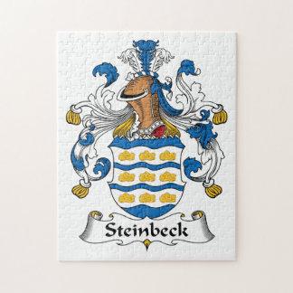 Escudo de la familia de Steinbeck Puzzle Con Fotos