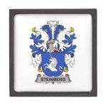 Escudo de la familia de Steinberg Caja De Joyas De Calidad