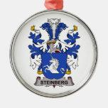 Escudo de la familia de Steinberg Adornos De Navidad