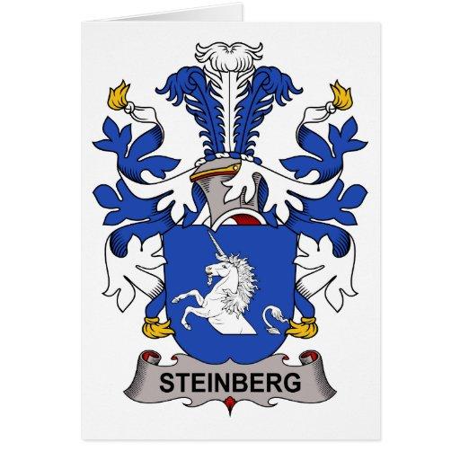 Escudo de la familia de Steinberg Felicitaciones