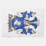 Escudo de la familia de Steinberg Toallas De Mano