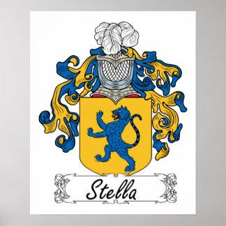Escudo de la familia de Stella Impresiones