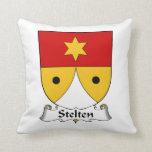 Escudo de la familia de Stelten Cojines