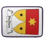 Escudo de la familia de Stelten Fundas Macbook Pro
