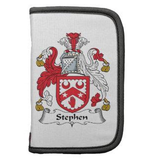 Escudo de la familia de Stephen Planificador