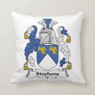 Escudo de la familia de Stephens Almohada