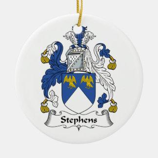 Escudo de la familia de Stephens Ornamente De Reyes