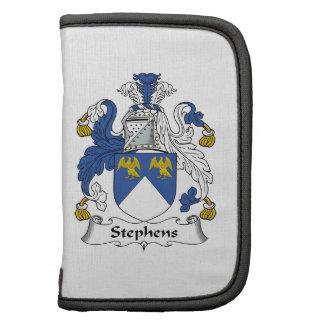 Escudo de la familia de Stephens Organizador