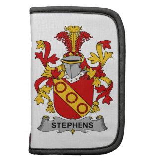 Escudo de la familia de Stephens Planificador