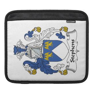 Escudo de la familia de Stephens Fundas Para iPads