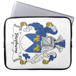 Escudo de la familia de Stephens Funda Computadora