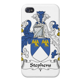 Escudo de la familia de Stephens iPhone 4 Cárcasa