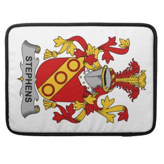 Escudo de la familia de Stephens Fundas Macbook Pro