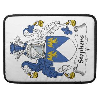 Escudo de la familia de Stephens Fundas Para Macbook Pro