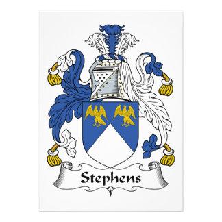 Escudo de la familia de Stephens Comunicados