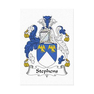 Escudo de la familia de Stephens Lona Estirada Galerías