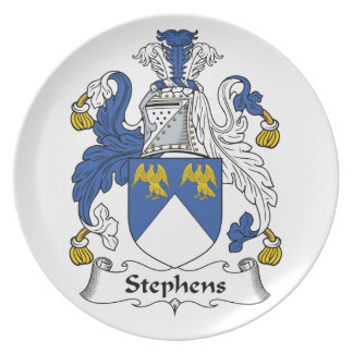 Escudo de la familia de Stephens Platos