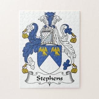 Escudo de la familia de Stephens Puzzles