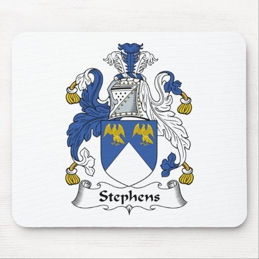 Escudo de la familia de Stephens Alfombrillas De Raton