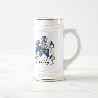 Escudo de la familia de Stephens Tazas De Café