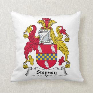 Escudo de la familia de Stepney Almohadas