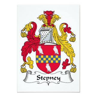 Escudo de la familia de Stepney Comunicado
