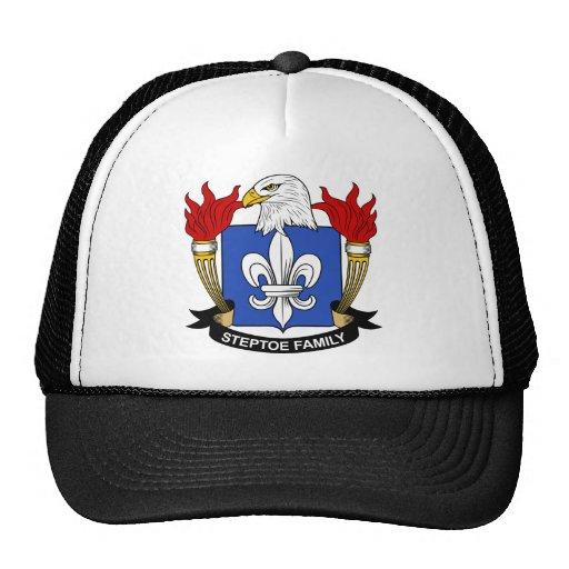 Escudo de la familia de Steptoe Gorras De Camionero