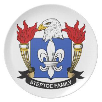 Escudo de la familia de Steptoe Plato