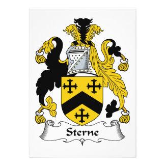 Escudo de la familia de Sterne Comunicados