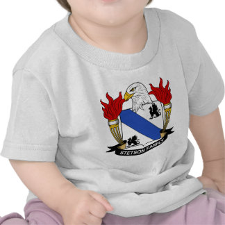 Escudo de la familia de Stetson Camiseta