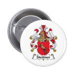 Escudo de la familia de Stettner Pin