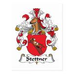 Escudo de la familia de Stettner Tarjetas Postales