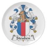 Escudo de la familia de Steuben Platos