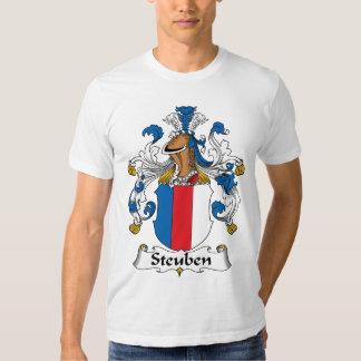 Escudo de la familia de Steuben Remeras