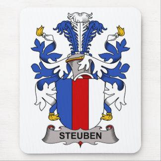 Escudo de la familia de Steuben Alfombrillas De Ratón
