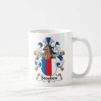 Escudo de la familia de Steuben Tazas