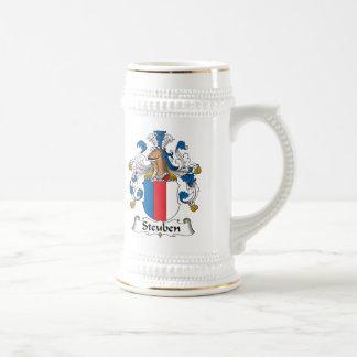 Escudo de la familia de Steuben Taza De Café