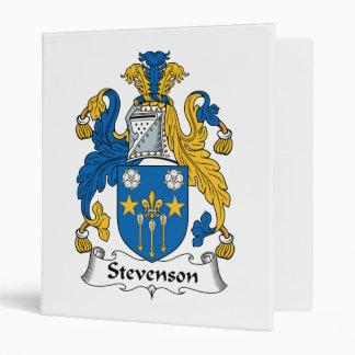 """Escudo de la familia de Stevenson Carpeta 1"""""""
