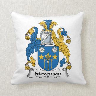 Escudo de la familia de Stevenson Cojines